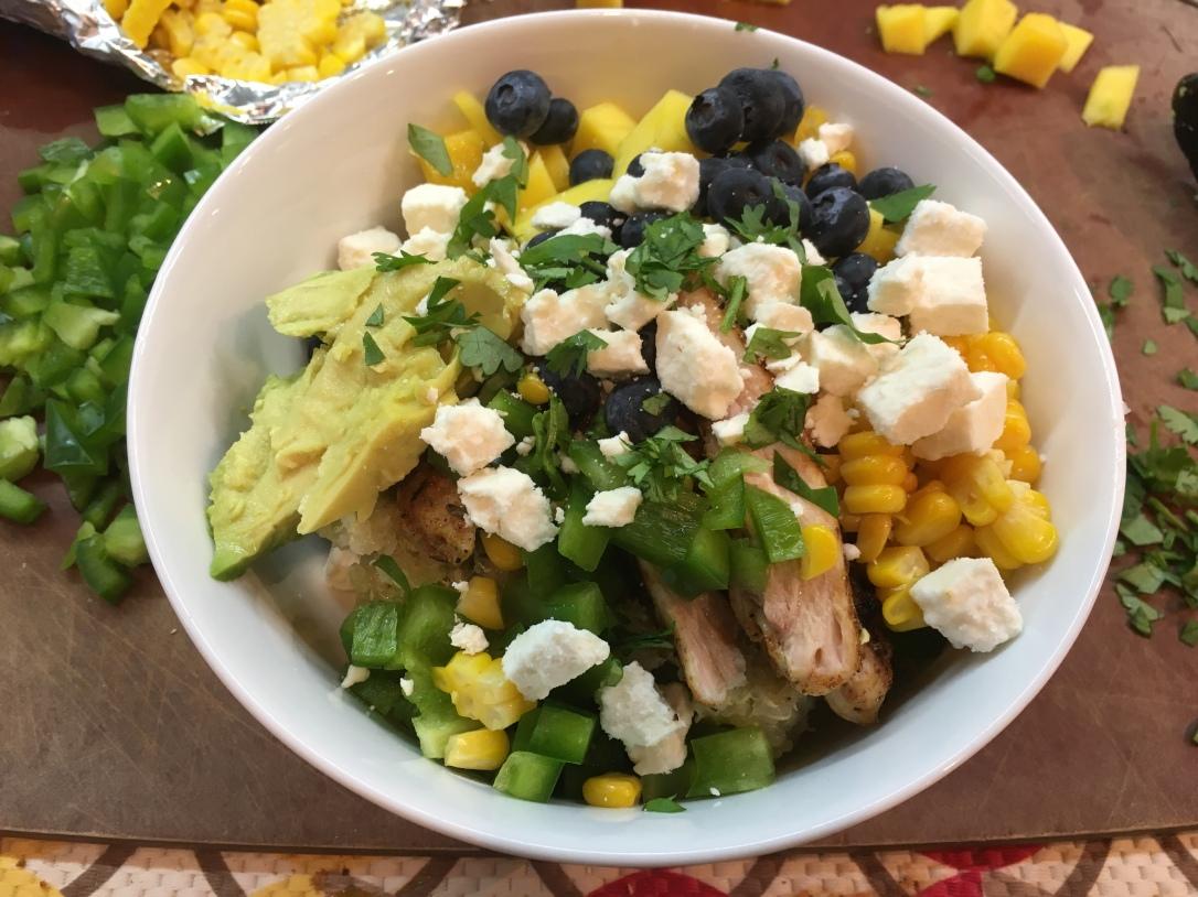 Blackened Chicken and Quinoa Salad